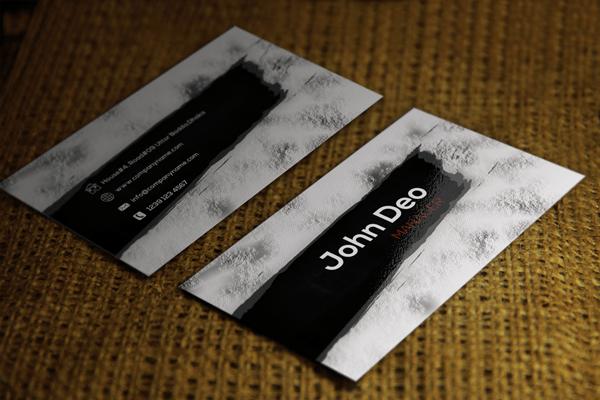 conception de cartes de visite